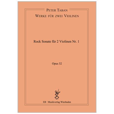 Taban, P.: Rock Duo-Sonate Nr. 1 Op. 32