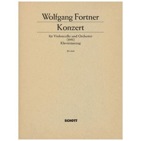 Fortner, W.: Violoncellokonzert