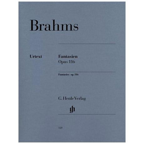 Brahms, J.: Fantasien Op. 116, 1-7