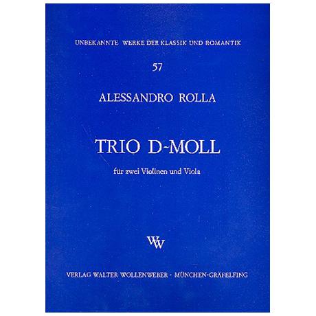 Rolla, A.: Trio d-Moll