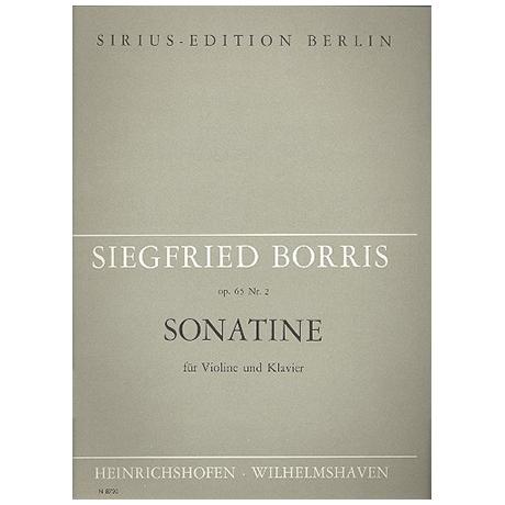 Borris, S.: Sonatine Op. 65/2