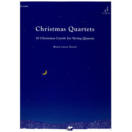 Turner, B.C.: Christmas Quartets