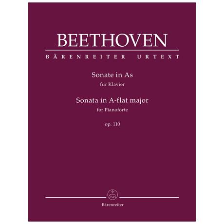 Beethoven, L. v.: Klaviersonate Op. 110 As-Dur
