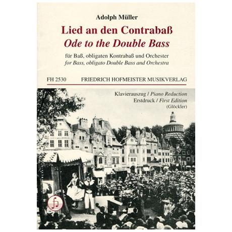 Müller, A.: Lied an den Contrabaß