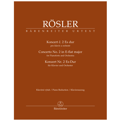 Rösler, A.: Klavierkonzert Nr. 2 Es-Dur