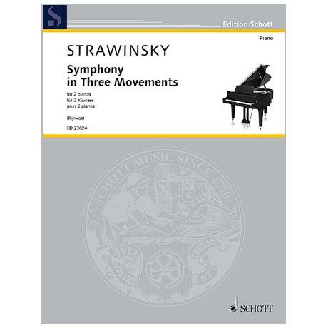 Strawinsky, I.: Symphony in Three Movements (1945/2017)