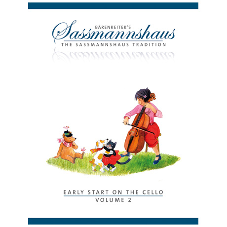Sassmannshaus, E./K.: Early Start on the Cello Volume 2