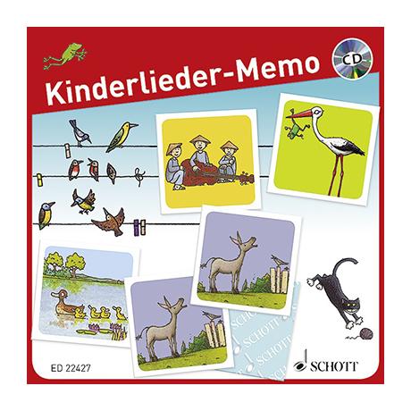Kinderlieder-Memo (+CD)