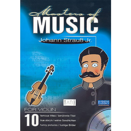 Masters Of Music: Strauß, . (+CD)