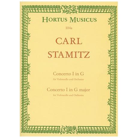 Stamitz, C.: Violoncellokonzert Nr. 1 G-Dur