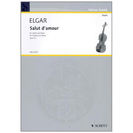Elgar, E.: Salut d´Amour Op. 12/3