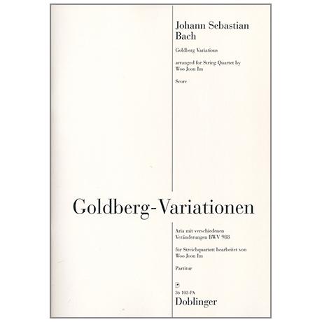 Bach, J. S.: Goldberg-Variationen