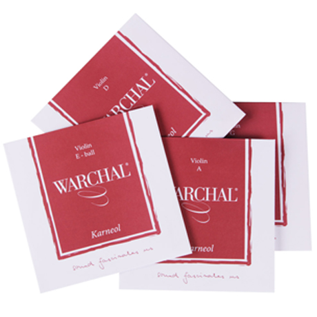 WARCHAL Karneol violin strings SET