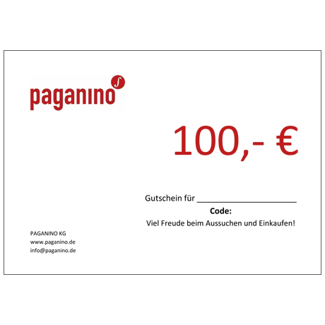 Gift certificate 100,- EUR