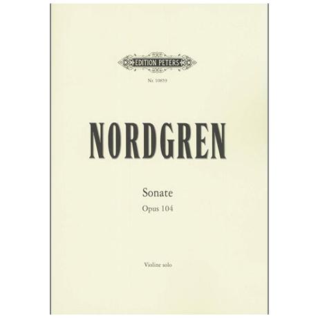 Nordgren, P. H.: Sonate Op. 104