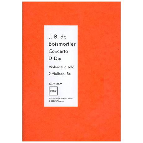 Boismortier, J. B. d.: Konzert Op.26/6 D-Dur
