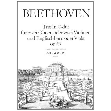 Beethoven, L.v.: Trio in C-Dur Op.87