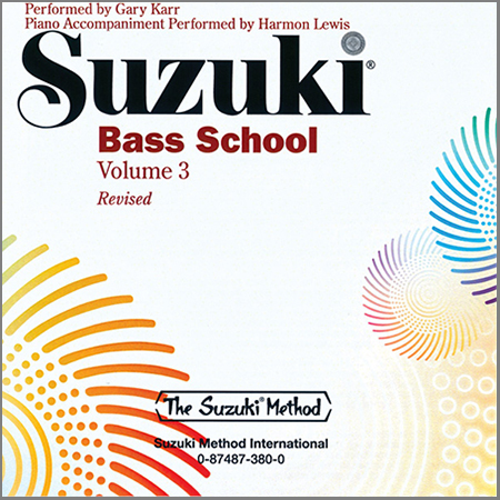 Suzuki Bass School Vol. 3 – CD