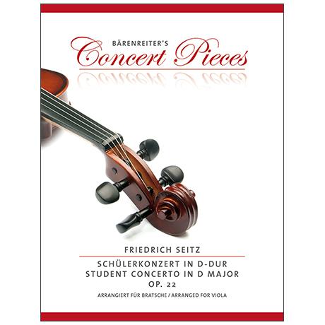 Seitz, F.: Schülerkonzert D-Dur Op. 22