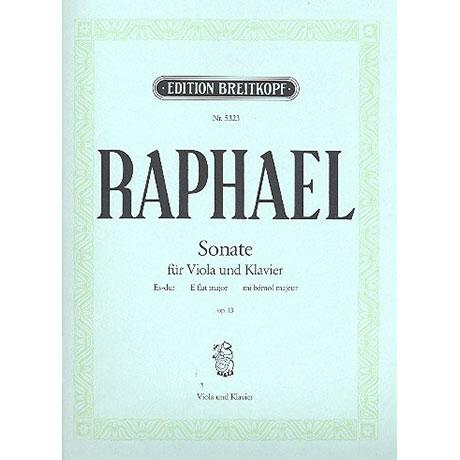 Raphael, G.: Violasonate Op. 13 Es-Dur
