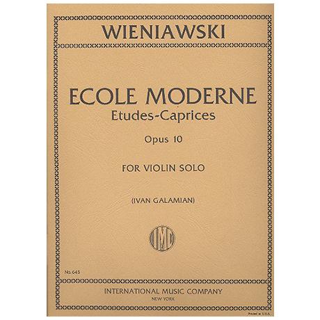 Wieniawski, H.: École moderne Op. 10