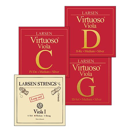 LARSEN Virtuoso viola strings SET