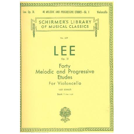 Lee, S.: Melodische und Progressive Etüden Op. 31 Band 1 (Nr. 1-22)