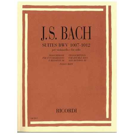 Bach, J. S.: 6 Solosuiten für Kontrabass BWV 1007-1012