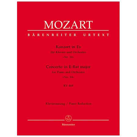 Mozart, W. A.: Klavierkonzert Nr. 14 KV 449 Es-Dur