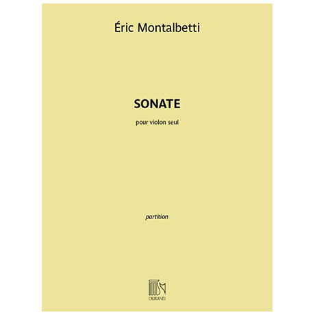 Montalbetti, É.: Violinsonate