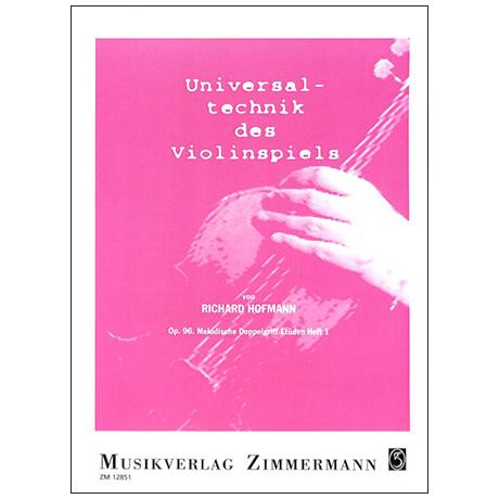 Hofmann, R.: Melodische Doppelgriff-Etüden Op. 96 Band 1
