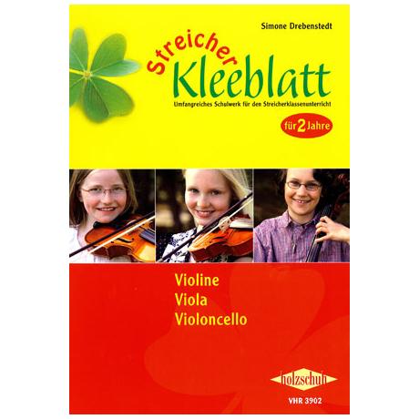 Streicher Kleeblatt – Schülerband für Violine, Viola, Violoncello