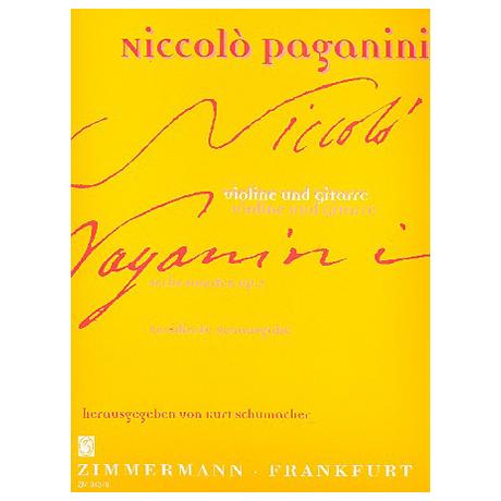 Paganini, N.: 6 Sonaten Op. 2