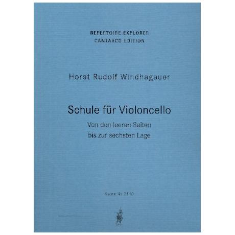 Windhagauer, H. R.: Schule für Violoncello