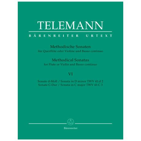 Telemann, G. Ph.: Methodische Sonaten – Band 6