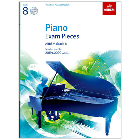 ABRSM: Piano Exam Pieces Grade 8 (2019-2020) (+CD)