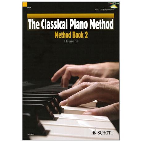 Heumann: The Classical Piano Method - Method Band 2 (+CD)