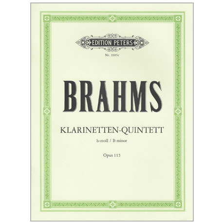 Brahms, J.: Klarinettenquintett Op. 115 h-Moll