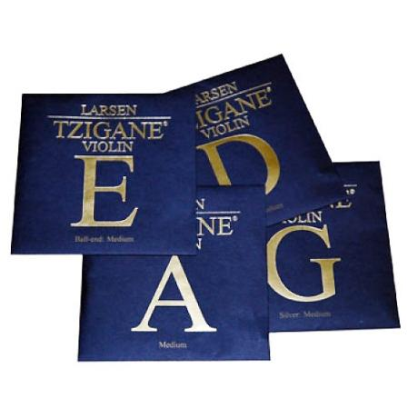 LARSEN Tzigane violin strings SET