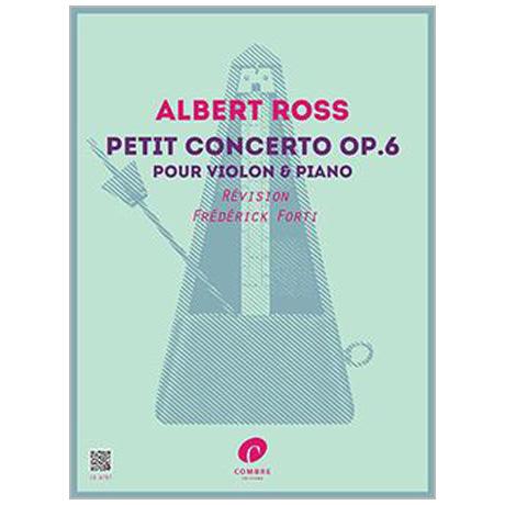 Ross, A.: Kleines Violinkonzert Op. 6