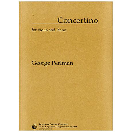 Perlman, G.: Concertino