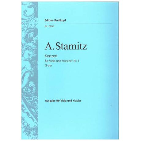 Stamitz, A.: Violakonzert Nr. 3 G-Dur