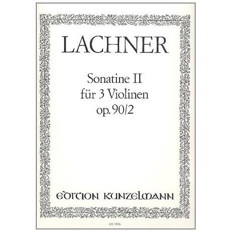 Lachner, F. P.: Sonatine D-Dur Op. 90,2