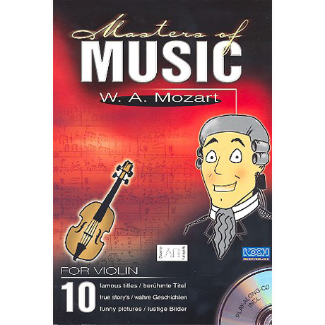 Masters Of Music: W. A. Mozart (+CD)