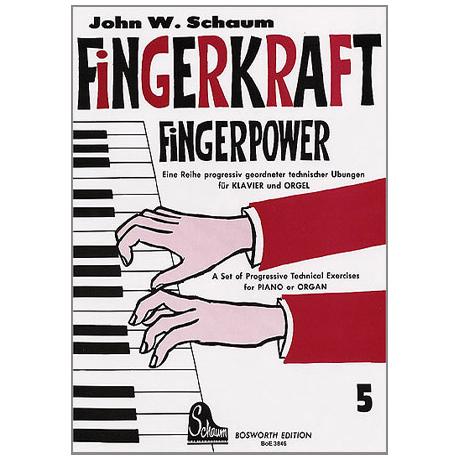 Schaum, J. W.: Fingerkraft Band 5