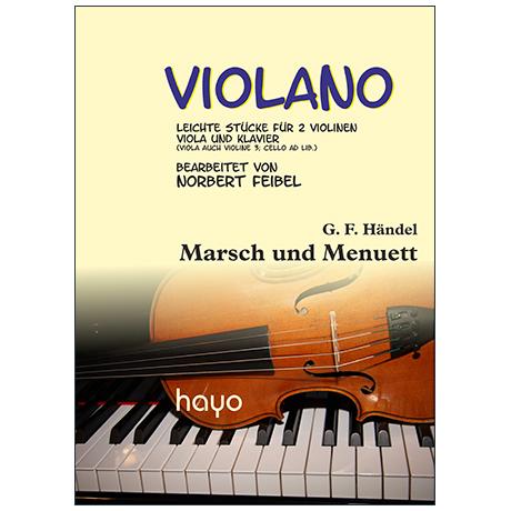 Händel, G. F.: Marsch und Menuett