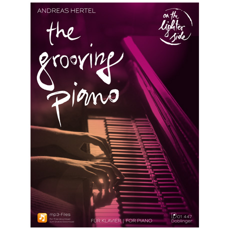 Hertel, A.: The Grooving Piano – On the Lighter Side (+MP3 Download)