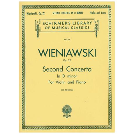 Wieniawski, H.: Violinkonzert Nr. 2 Op. 22 d-Moll