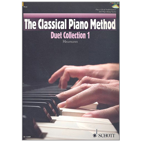Heumann, H.-G.: The Classical Piano Method – Duet Collection Band 1 (+CD)