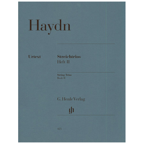 Haydn, J.: Streichtrios Band 2 (Divertimenti) Hob. V: 15-21